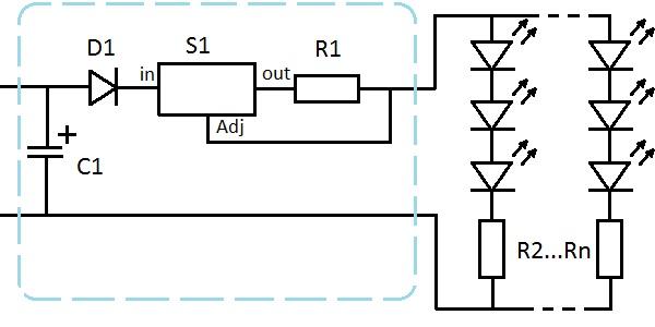 D1 - диод SM4007 - 2р.