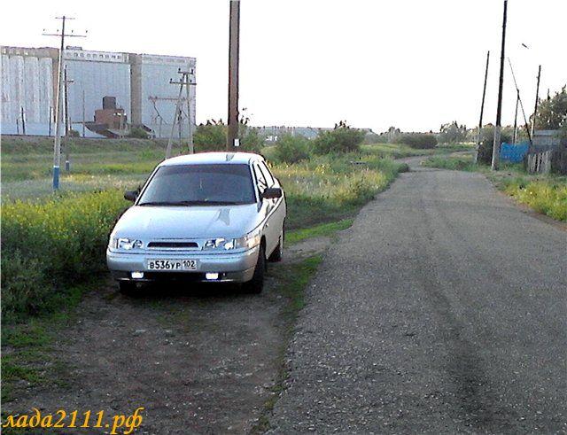LED как ДХО в ПТФ ВАЗ 2110