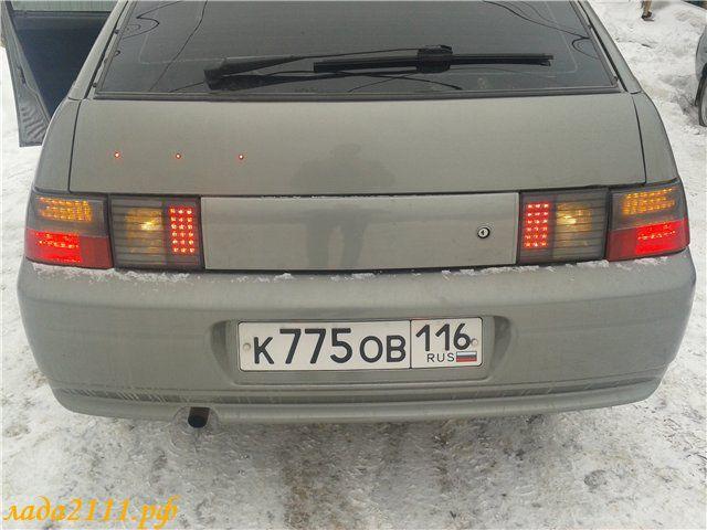 тюнинг задних фар ВАЗ 2112