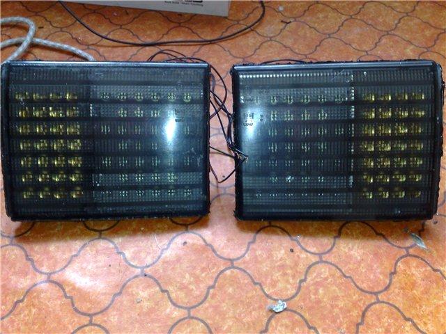 тюнинг задних фонарей ВАЗ 2110