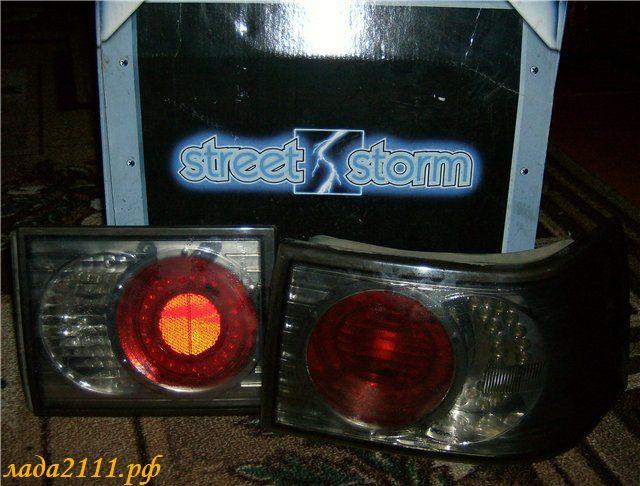 задняя оптика Street Storm
