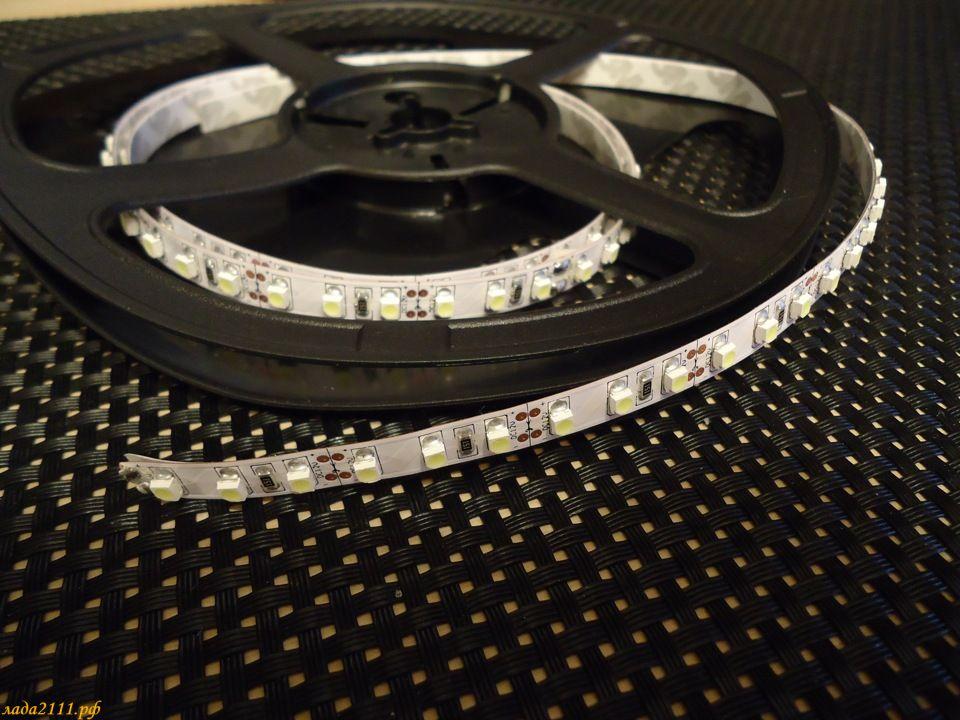 Светодиодные ангельские глазки из светодиодной ленты своими  896