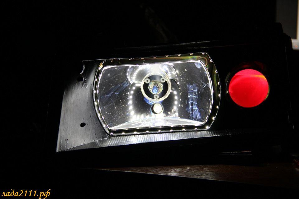 Подсветка для линз своими руками 63