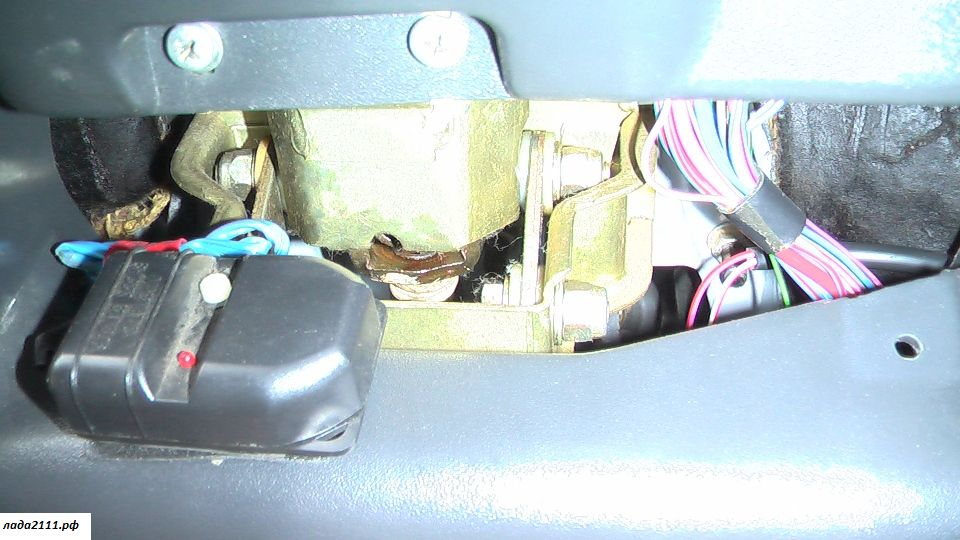 Фото №7 - вибрация по кузову на холостых ВАЗ 2110