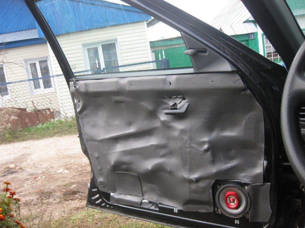 Чем можно зашумить машину своими руками 38