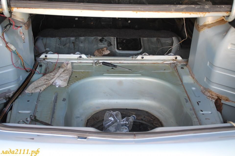 Фото №16 - шумоизоляция крышки багажника ВАЗ 2110