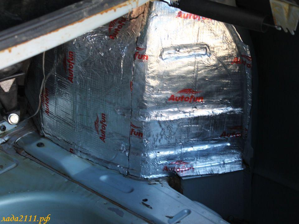 Фото №3 - шумоизоляция крышки багажника ВАЗ 2110