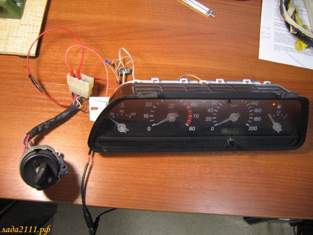Авто тест приборной панели ВАЗ
