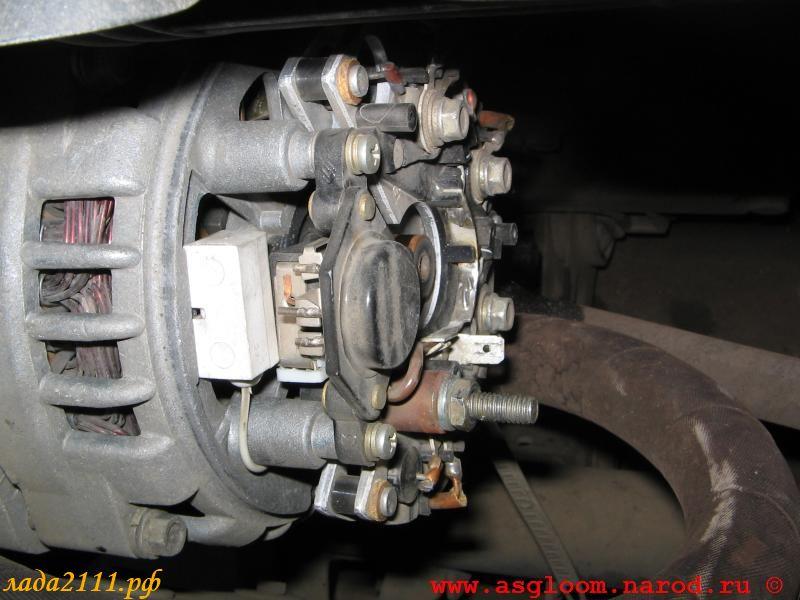 Фото №14 - как повысить напряжение генератора ВАЗ 2110