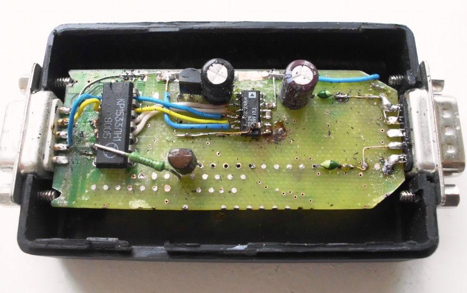 k-line адаптер своими руками