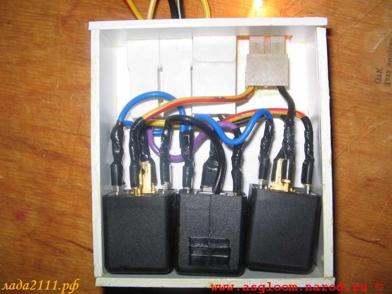 фар и проводами от кнопки