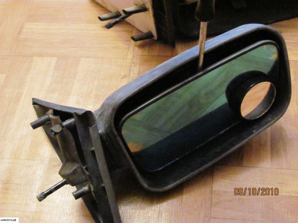 Замена зеркала на ваз 2110