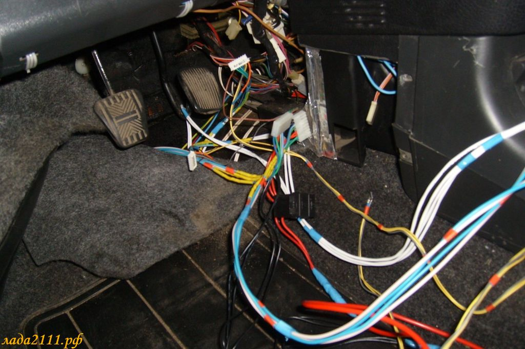 Фото №20 - проводка стеклоподъемников ВАЗ 2110