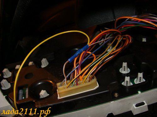 Фото №45 - как подключить дхо ВАЗ 2110