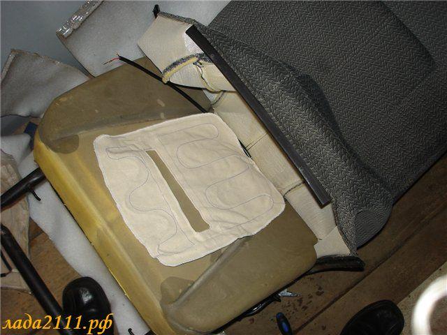 Установка подогрева сидений своими руками на 2110