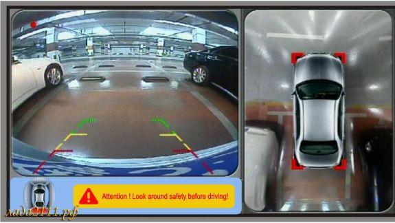 Как сделать круговой обзор на авто