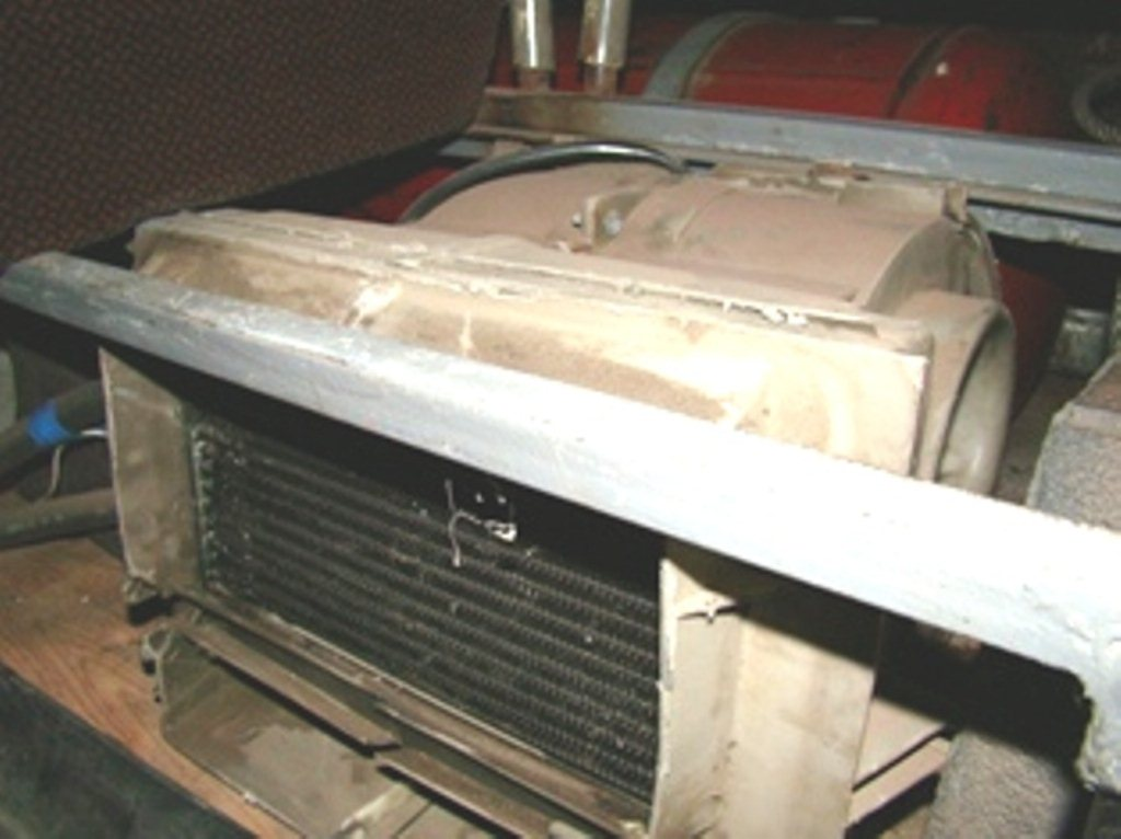 радиатор печки 2141