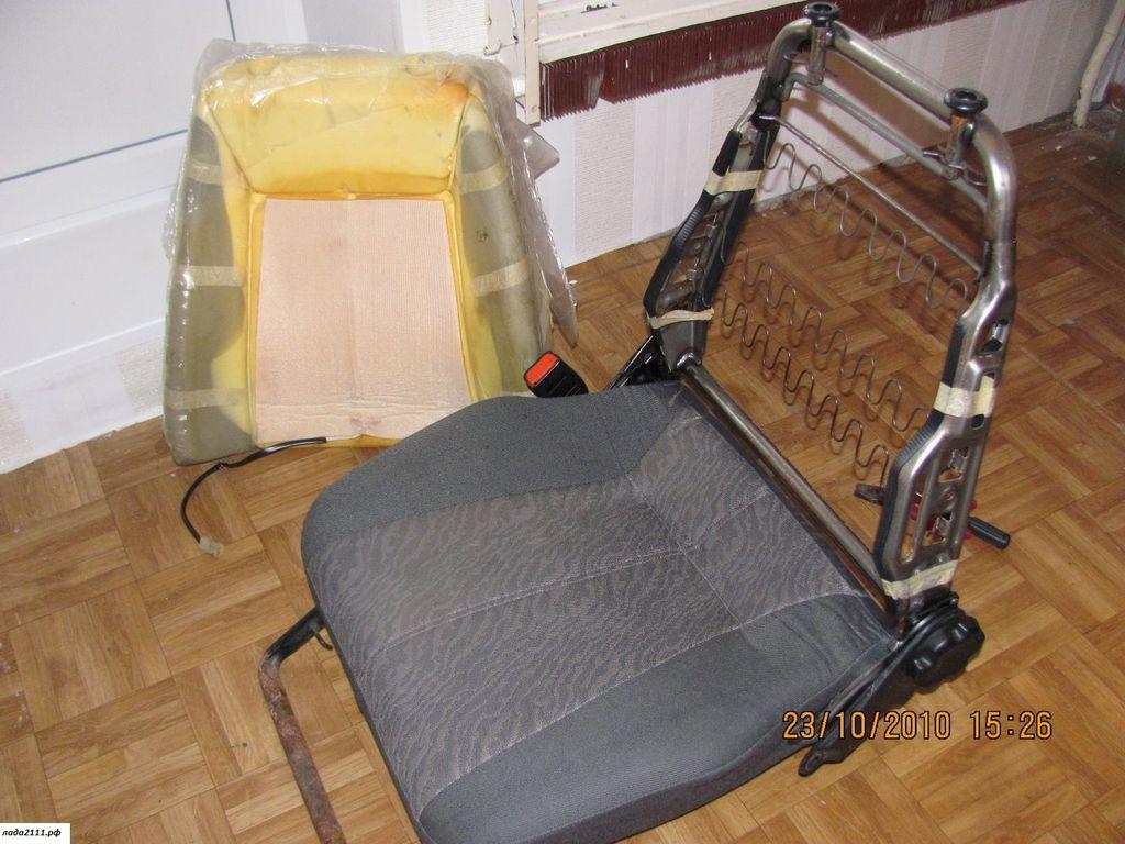 Как сделать водительское кресло своими 838