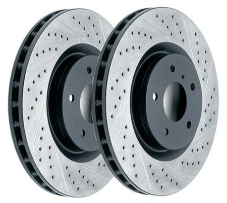 Пример тормозных дисков с