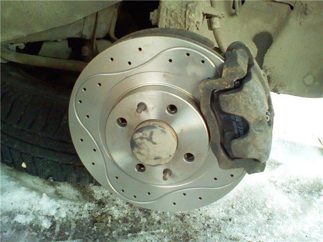 Фото №36 - почему греется тормозной диск на ВАЗ 2110