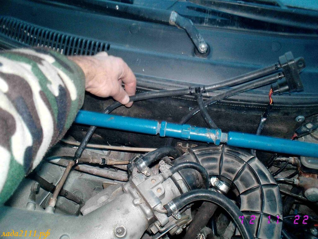 Фото №10 - установка гбо на ВАЗ 2110 своими руками