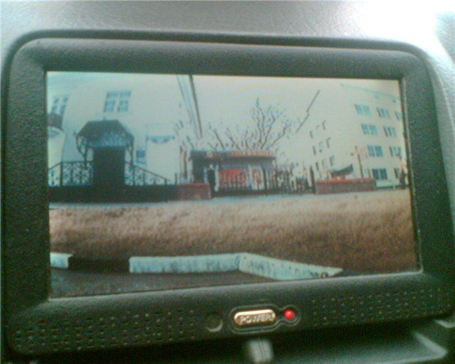 Фото №5 - камера заднего вида на ВАЗ 2110