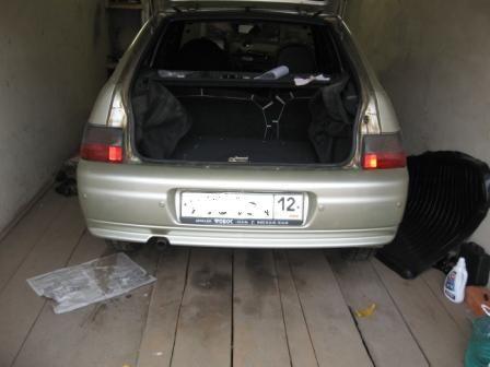 Фото №21 - установка парктроника на ВАЗ 2110