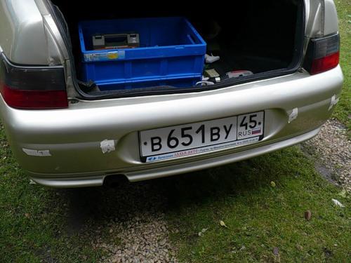 Фото №10 - установка парктроника на ВАЗ 2110