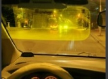Солнцезащитный антибликовый козырек для автомобиля (отзывы, обзор)