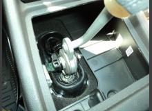Привод переключения передач (кулиса) от Приоры на ВАЗ 2110