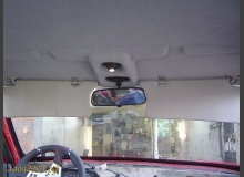 Установка зеркала салона на ВАЗ от иномарки