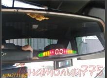 Совмещаем парктроник с зеркалом заднего вида