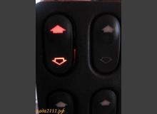 Подсветка кнопок стеклоподъемников ВАЗ 2110