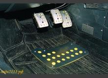 Виды накладок на педали ВАЗ и их установка
