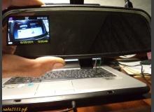 Встраиваем видеорегистратор в зеркало заднего вида