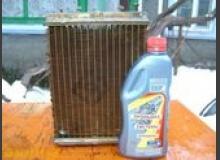 Промывка радиатора печки (со снятием и без)