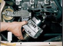 Обслуживание и проверка генератора ВАЗ