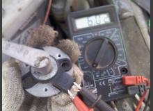 Ремонт моторедуктора печки старого образца на ВАЗ 2110