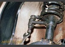 Замена передних стоек ВАЗ 2110, 2111 и 2112