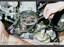 Замена ремня ГРМ ВАЗ 2110, 2111 и 2112 (на 8 и 16кл. двигателях)