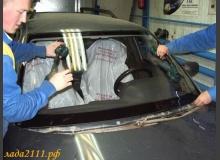 Замена лобового стекла ВАЗ 2110
