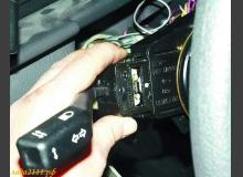 Замена и проверка подрулевых переключателей ВАЗ 2110