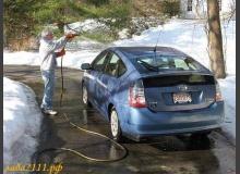 Как правильно мыть автомобиль зимой