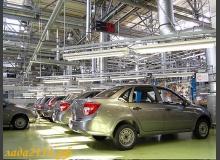 Выпущен 50-тысячный автомобиль Lada Granta