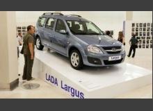 Lada Largus стала музейным экспонатом