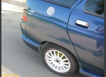 Установка лючка бензобака Sparco на ВАЗ 2112