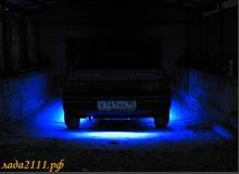 Подсветка днища автомобиля ВАЗ 2110