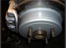 Покраска суппортов и барабанов ВАЗ 2110