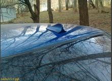 Плавник на крышу автомобиля (разновидности и установка)