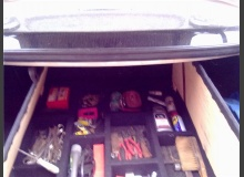 Фальшпол в багажнике ВАЗ 2110